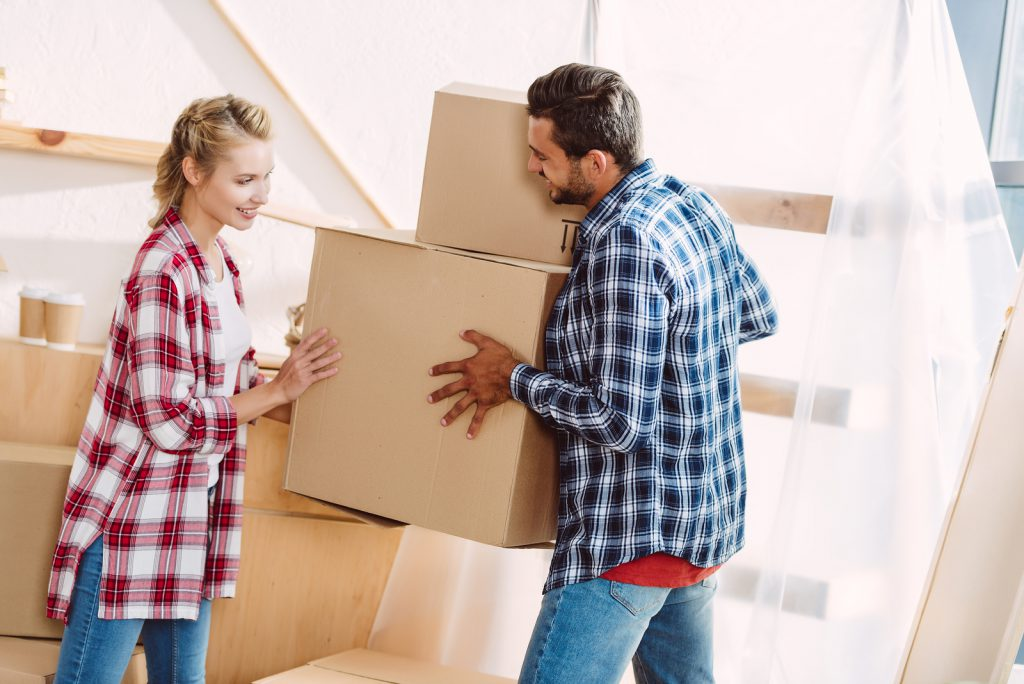 Couple Moving To New House in Donegal
