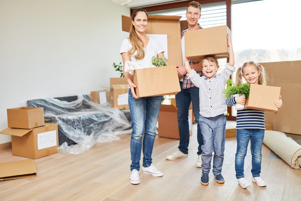 Parents and children moving to donegal